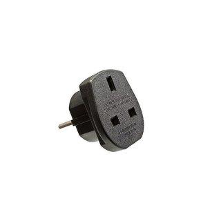 stecker adapter von uk auf eu 230v 2 50 growfix growshop. Black Bedroom Furniture Sets. Home Design Ideas