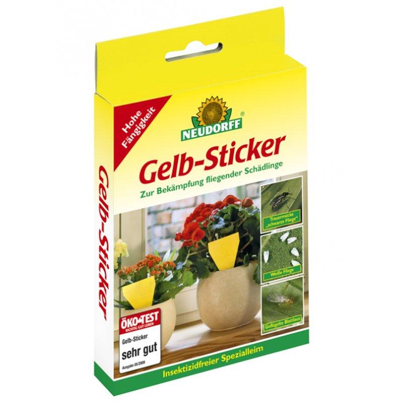 Gelbsticker neudorff 10er packung 4 90 growfix growshop for Gelbsticker neudorff